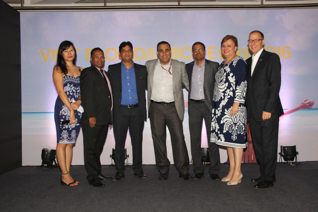 MICE event Mumbai, VISIT FLORIDA and  partners.JPG